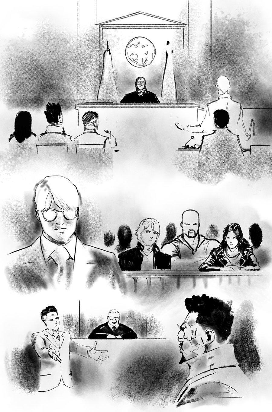 Image of DEFENDERS #6 p.14 ARTIST'S PROOF