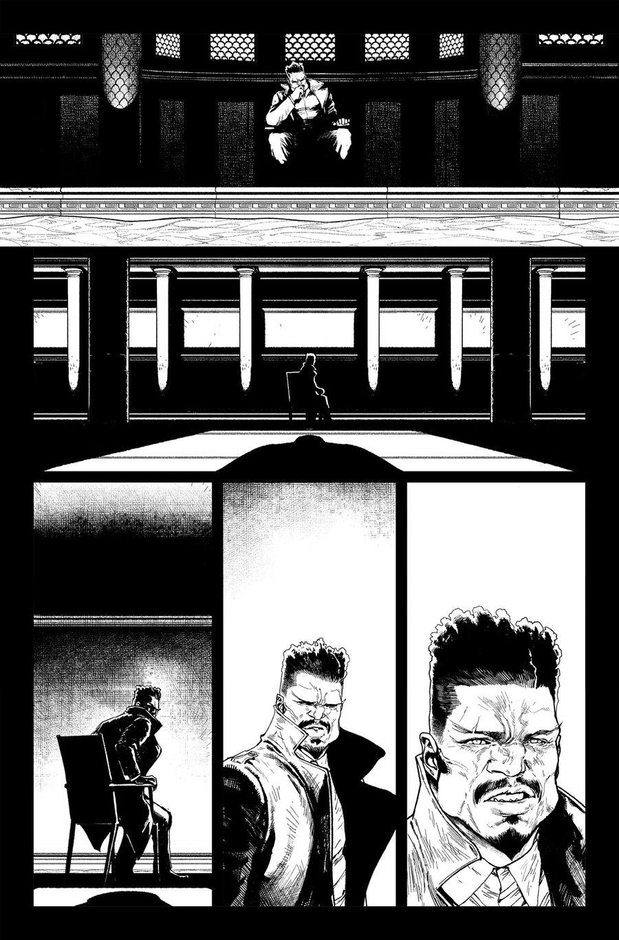 Image of DEFENDERS #6 p.20 ARTIST'S PROOF