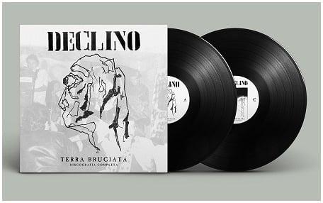 """Image of DECLINO - """"Terra bruciata - Discografia completa""""  2xLp"""