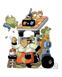 Image of Fish Cart