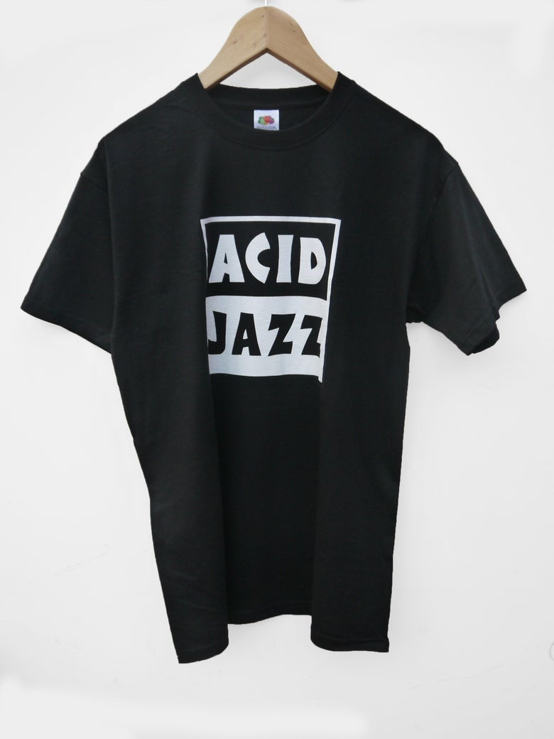 Image of BACK IN STOCK - Acid Jazz T-shirt (Black)