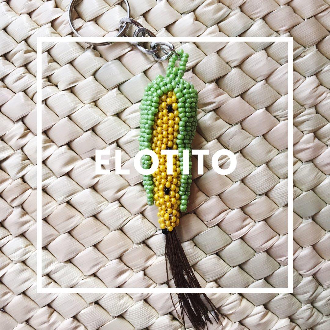 Image of Elotito Corn Keychain