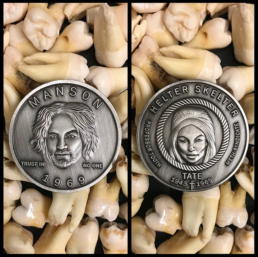 Image of Cult Leader Charles Manson Coin