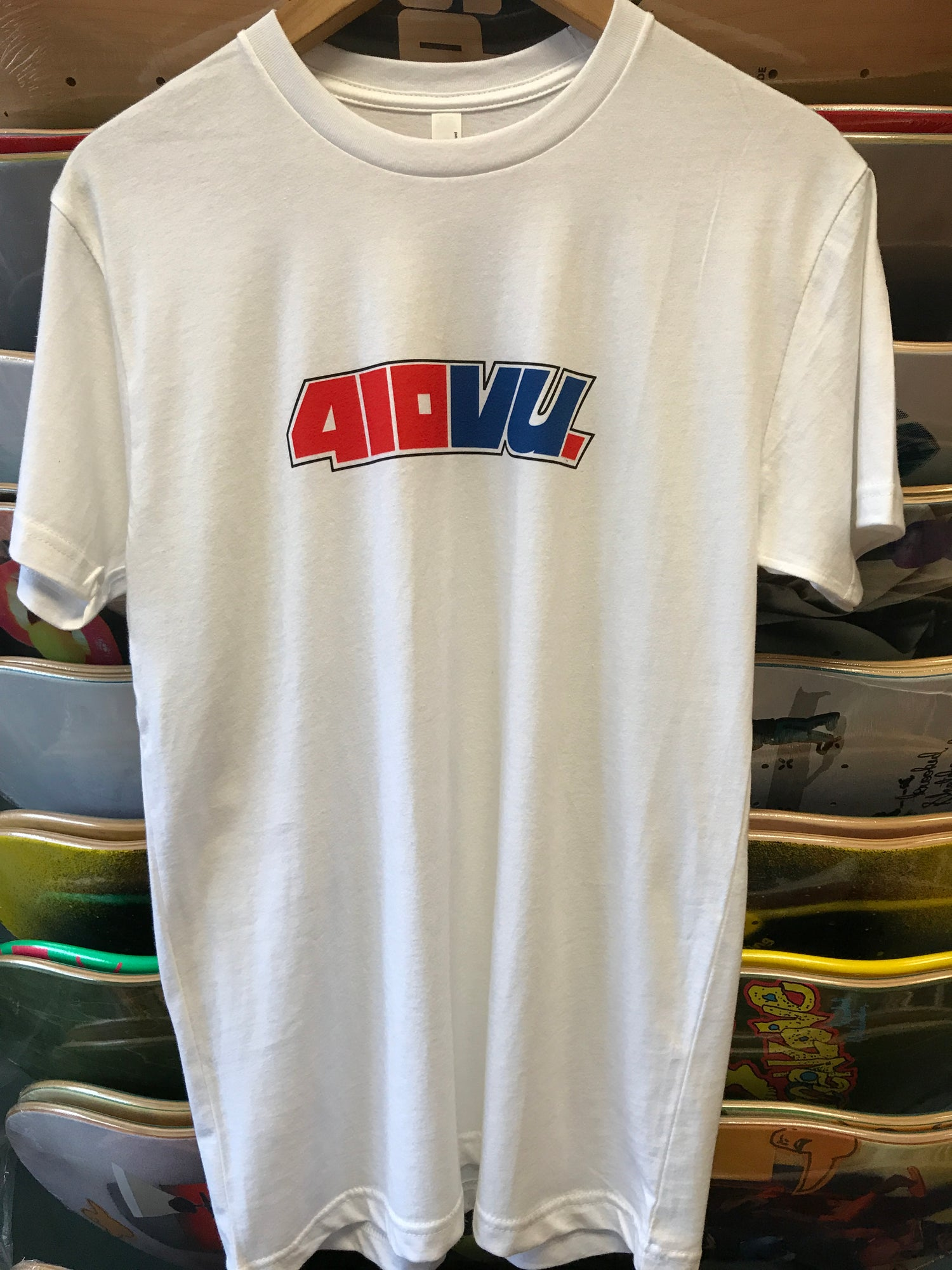 "Image of 411 ""Tribute"" tee 410VU"