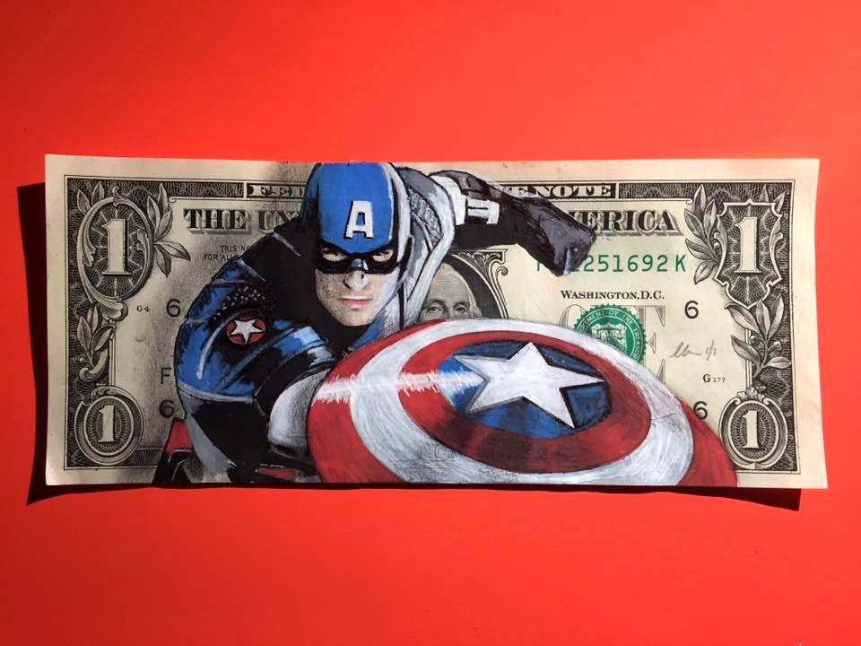 Image of The captain Money Art