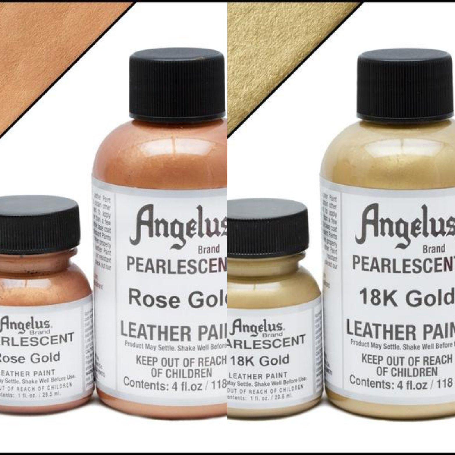ots angelus acryl perlmuttartig leder farbe angelus acrylic pearlescent leather paint. Black Bedroom Furniture Sets. Home Design Ideas