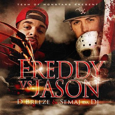 Image of Semaj da Dj & D Breeze - Freddy VS Jason (2017)
