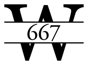 Image of Vinyl Decal For Your Mailbox, Front Door, Business Address Lettering, Address Label