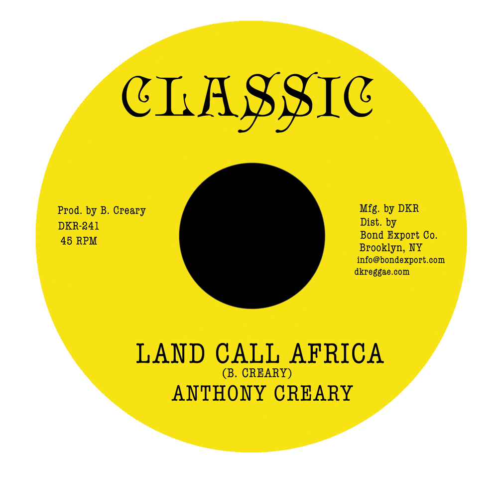 "Image of Anthony Creary - Land Call Africa 7"" (Classic)"