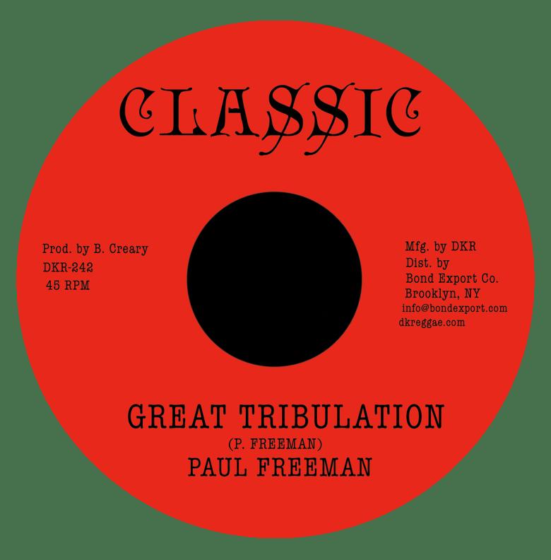 "Image of Paul Freeman - Great Tribulation 7"" (Classic)"