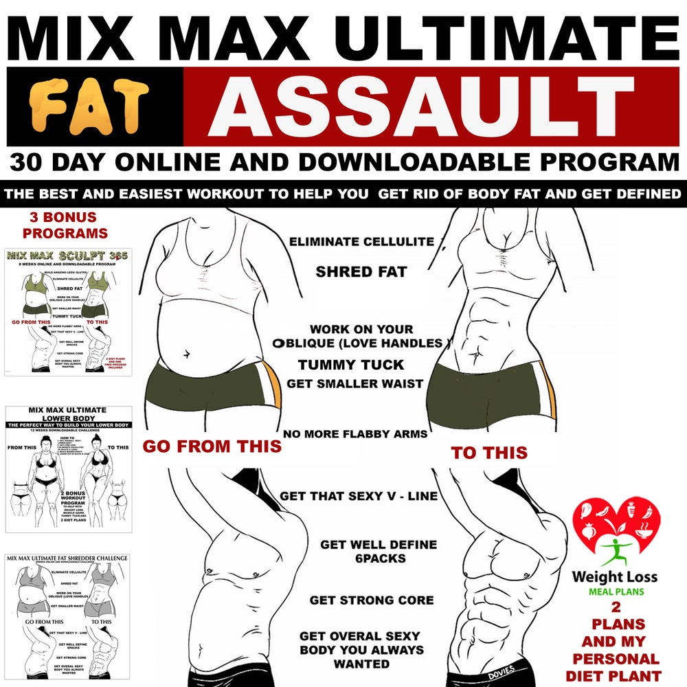 Image of MIX MAX ULTIMATE FAT ASSAULT