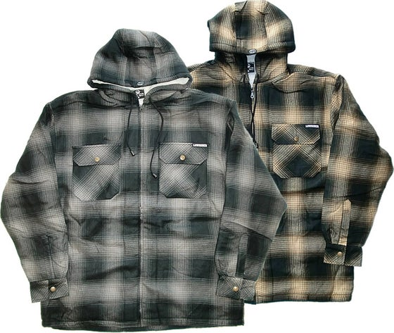 Image of Low Rider Sherpa Jacket with Hood