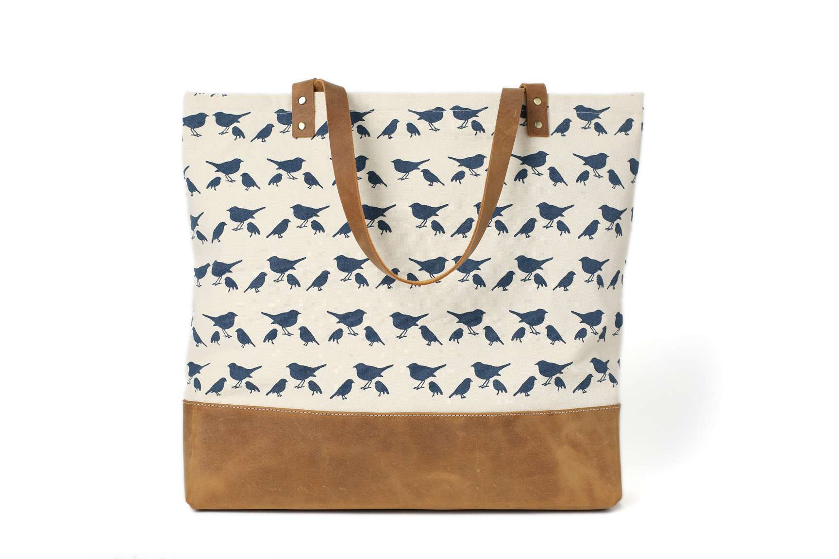 a018d4b0ed66 MoshiLeatherBag - Handmade Leather Bag Manufacturer — Handmade Canvas Tote  Bags with Leather Trimming