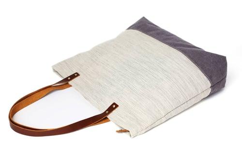 Image of Handmade Canvas Tote Bags, Women Shoulder Bags,  College Handbags 14040