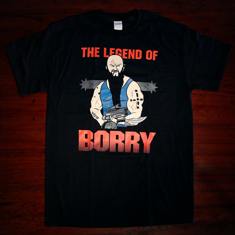 Image of The Legend of Borry - Predator Tshirt
