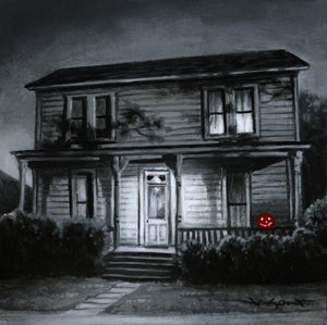 "Image of ""Myers House"" - 5"" x 5"" giclee"