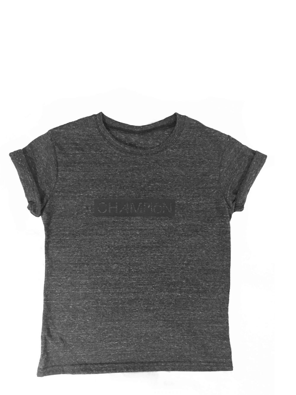 Image of unisex kids recycled block t-shirt