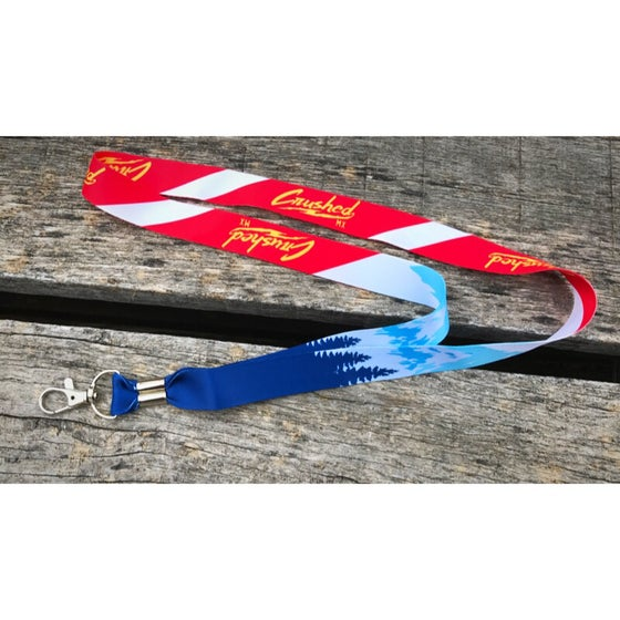 Image of Colorado Flag Crushed MX Lanyard