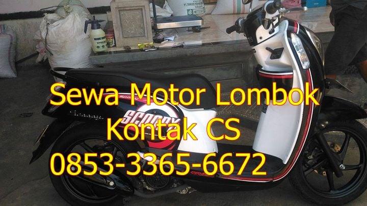 Image of Sewa Motor Untuk Trasportasi Lombok Murah