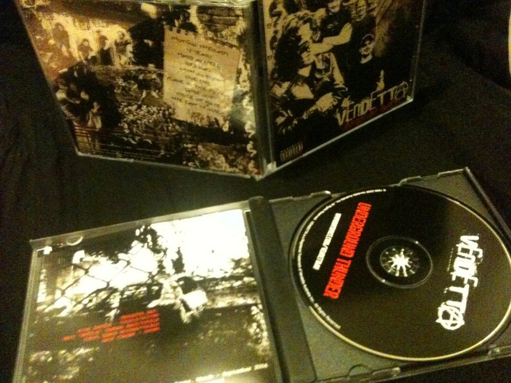 Image of Vendetta 'Underground Thunder' CD