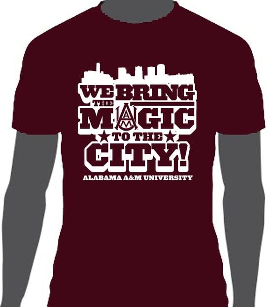 Image of We Bring The Magic - AAMU T-Shirt