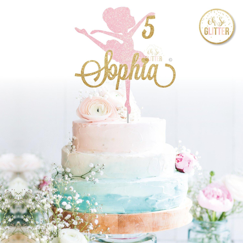Image of Ballerina cake topper