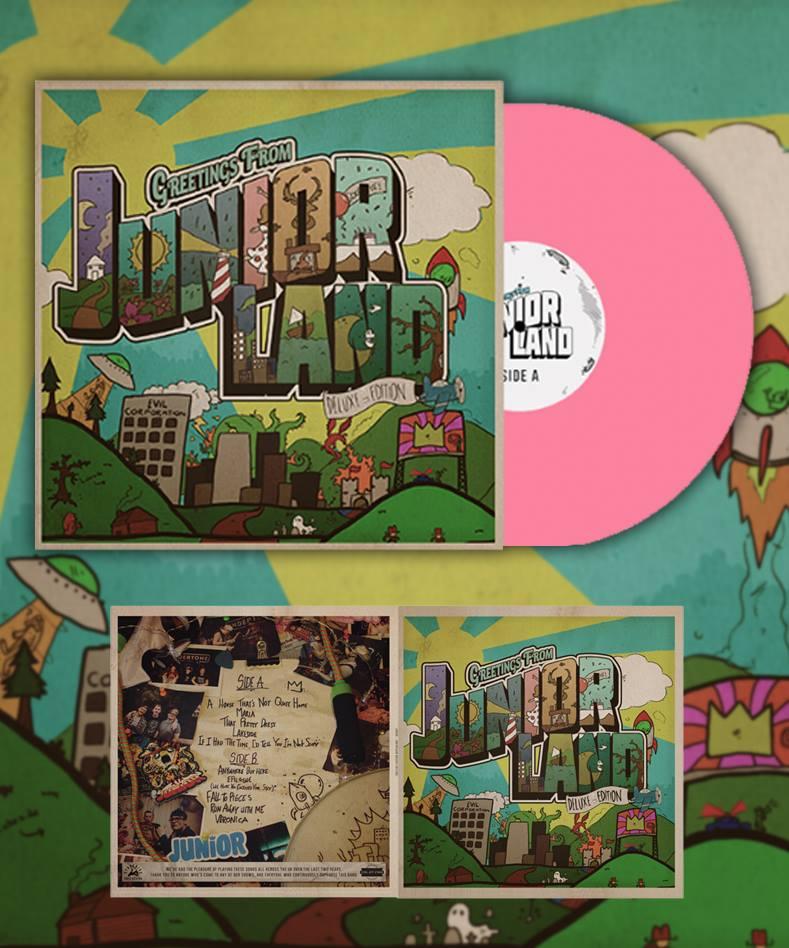 Image of 'Juniorland' Deluxe Edition Pink Vinyl