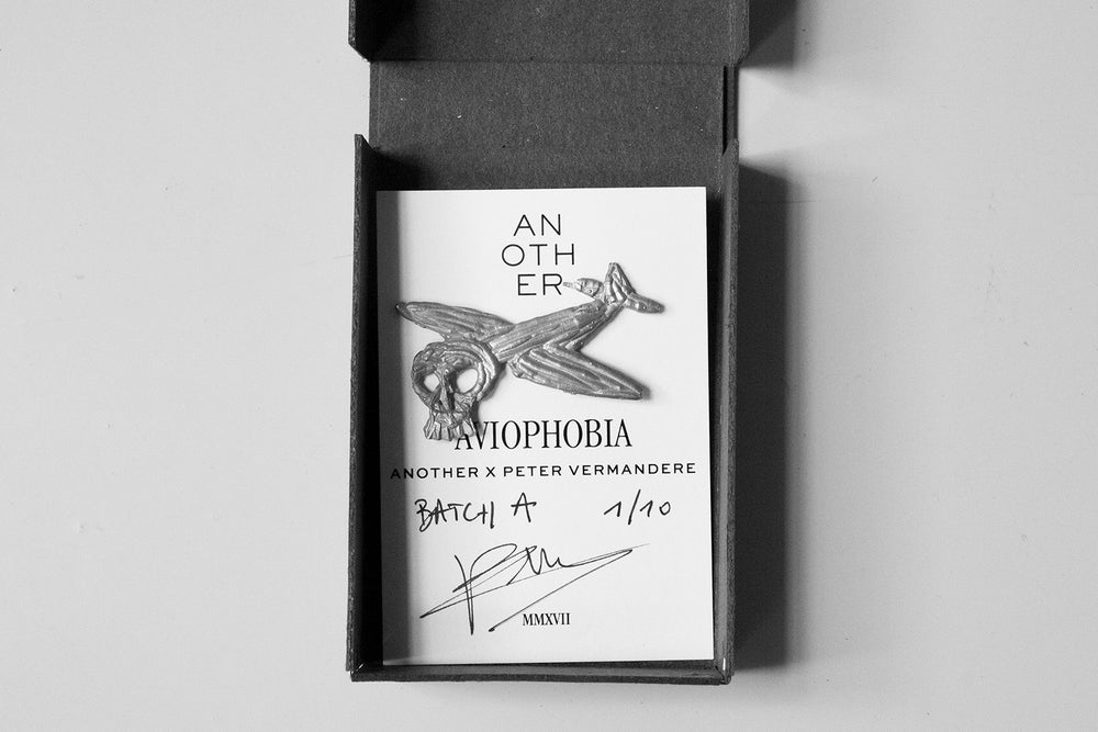 Image of Aviophobia Pin