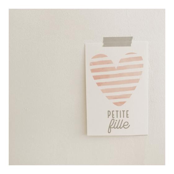 Image of Carte Petite Fille (avec enveloppe)