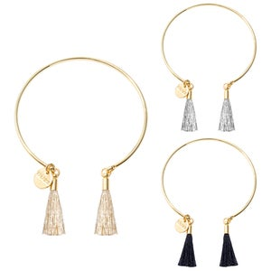 Image of FINE TASSEL CUFF | GOLD
