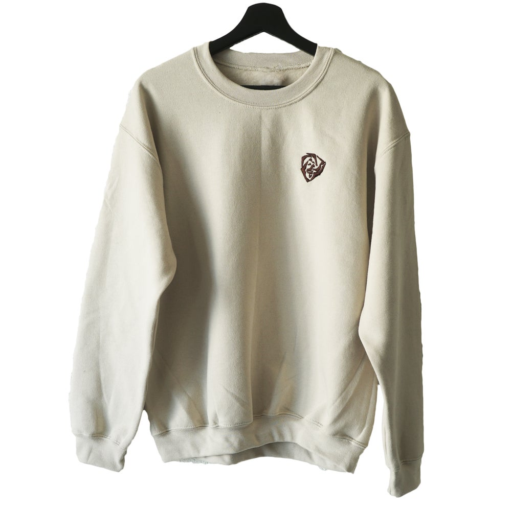 Image of Crewneck Sanja La rose - Brown