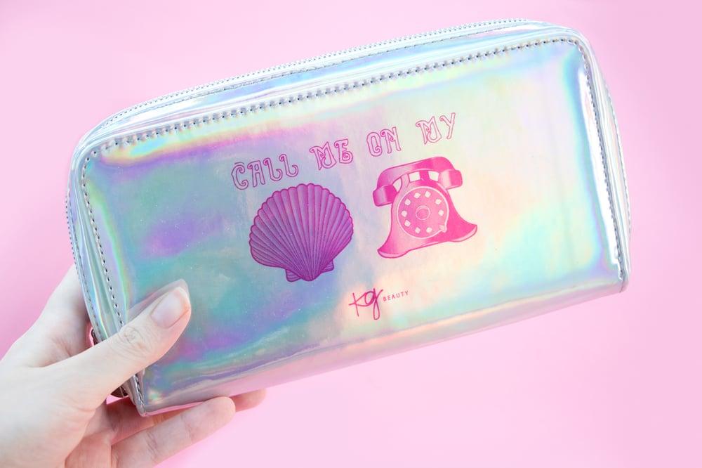 Image of Holographic Makeup Bag