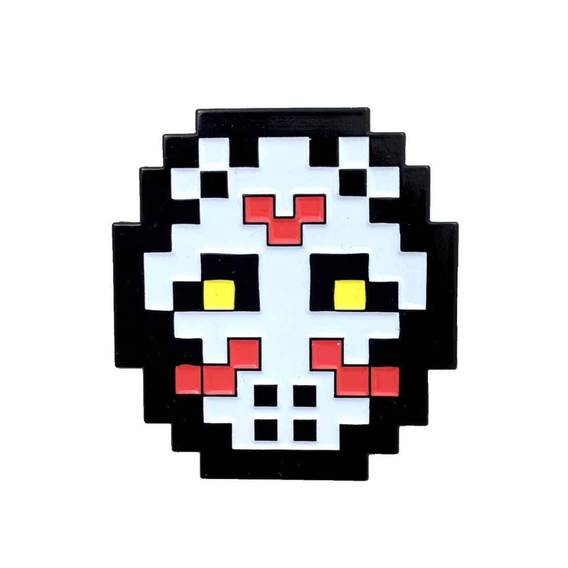 Image of Classic White 8-bit Hockey Mask