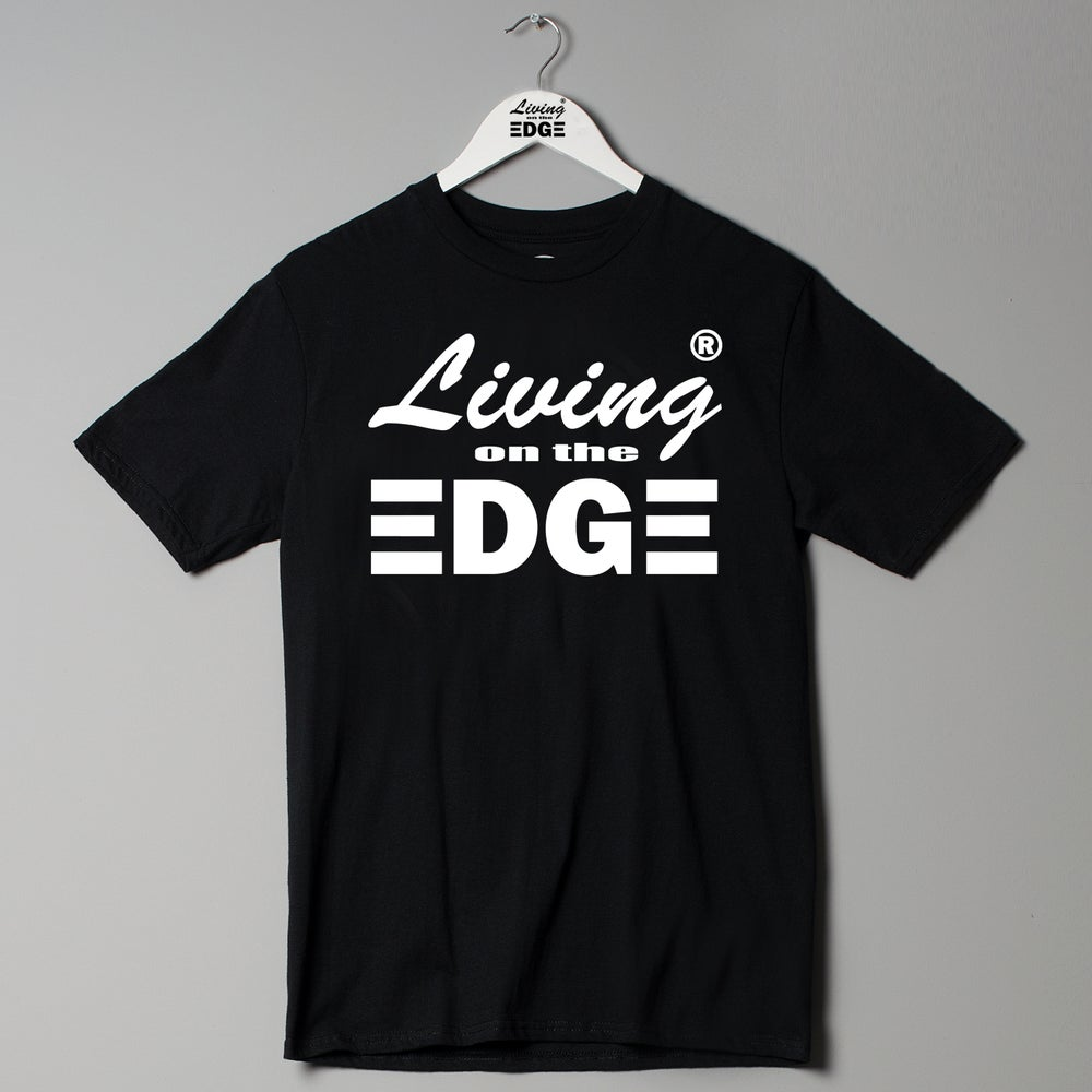 Image of Living on the edge couture T Shirt urban designer street wear fashion