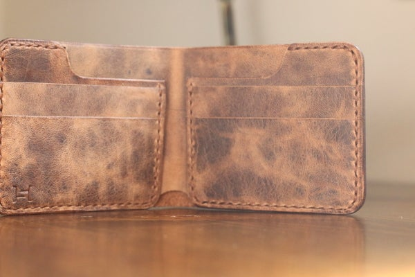 Image of Revision Bifold in Horween Natural Vintage
