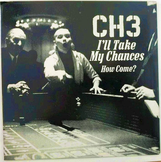 Image of Original 1983 Pressing I'll Take My Chances single