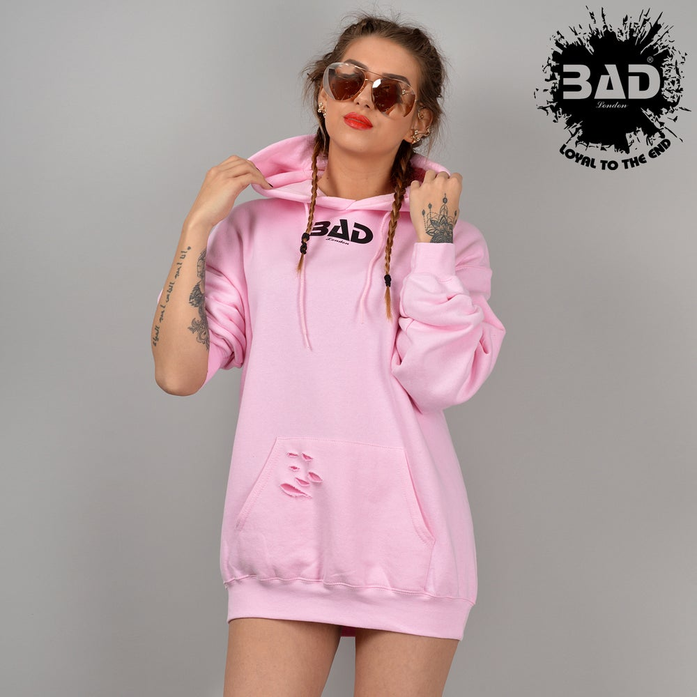Couture Hoodie by BAD CLOTHING LONDON DESIGNER URBAN STREET WEAR AND FITNESS FASHION