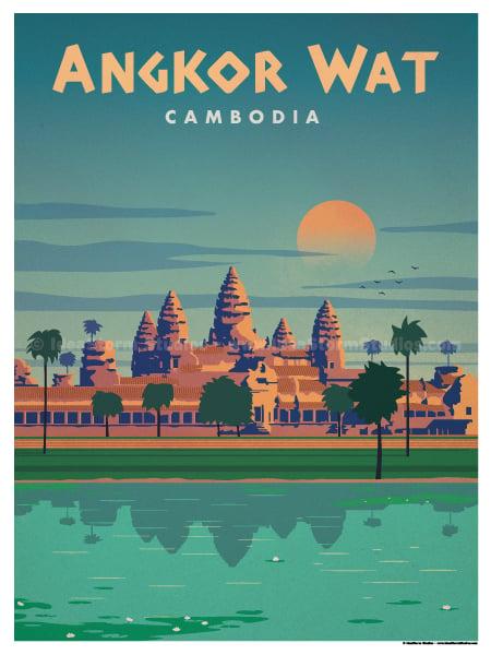 Image of Angkor Wat Poster
