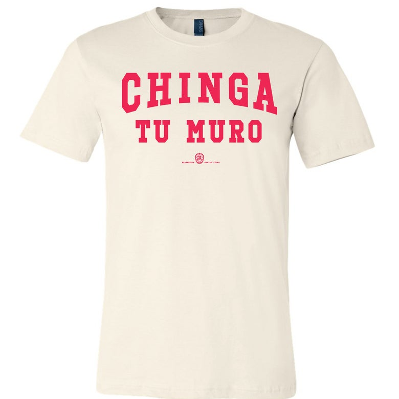 Image of CHINGA TU MURO - 2 (off-white)