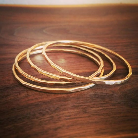 Image of Gold Bangles
