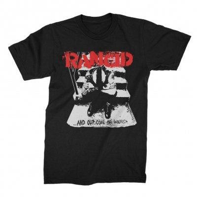 Image of Rancid ......And Out Come the Wolves Shirt