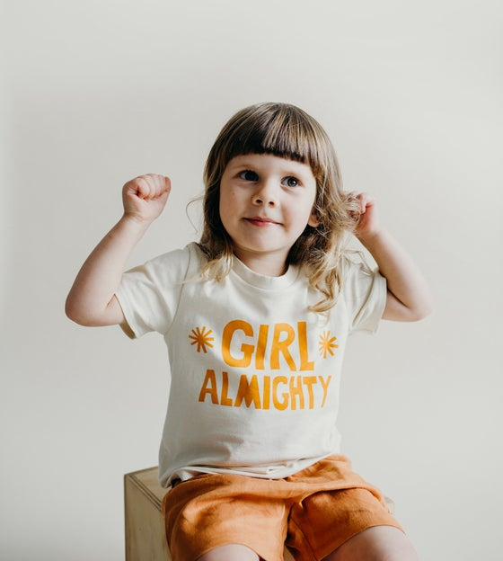 Image of Girl Almighty organic T-shirt