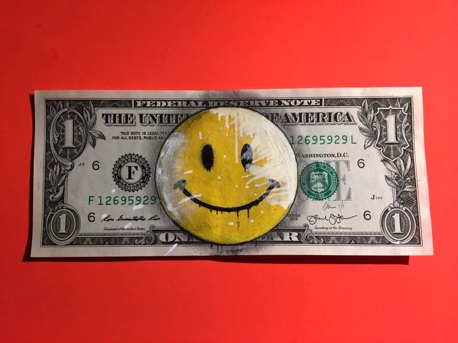 Image of Smile Money Art