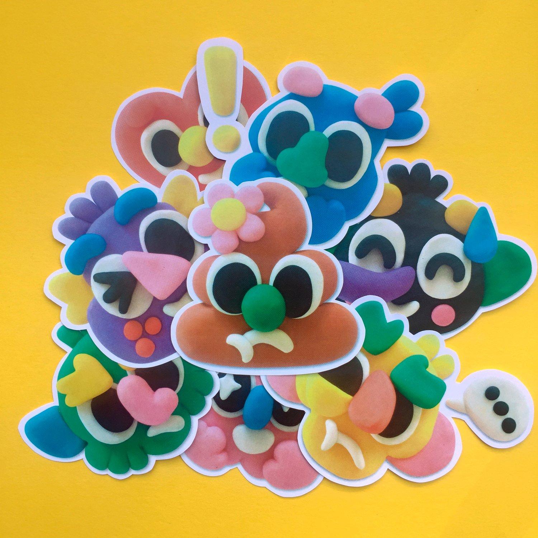 Image of Emoji-People stickers pack