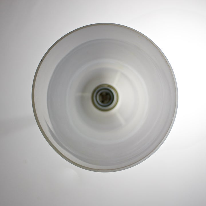 Image of White Glass Pendant Light