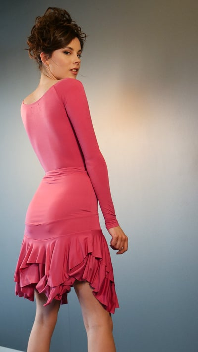 Image of Salsa Skirt - Fuchsia J3347
