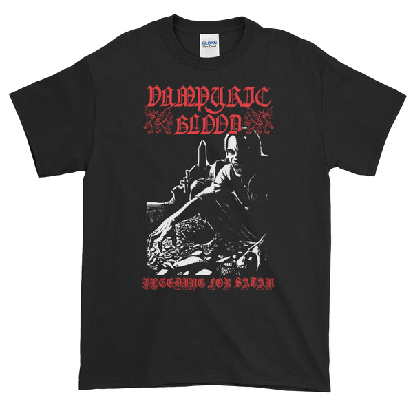 "Image of Vampyric Blood - ""Bleeding for Satan"" shirt"