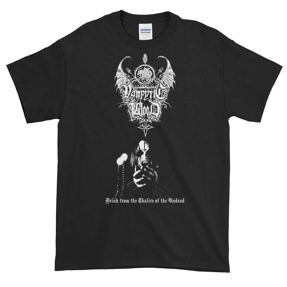 """Image of Vampyric Blood - """"Chalice of the Undead"""" shirt"""