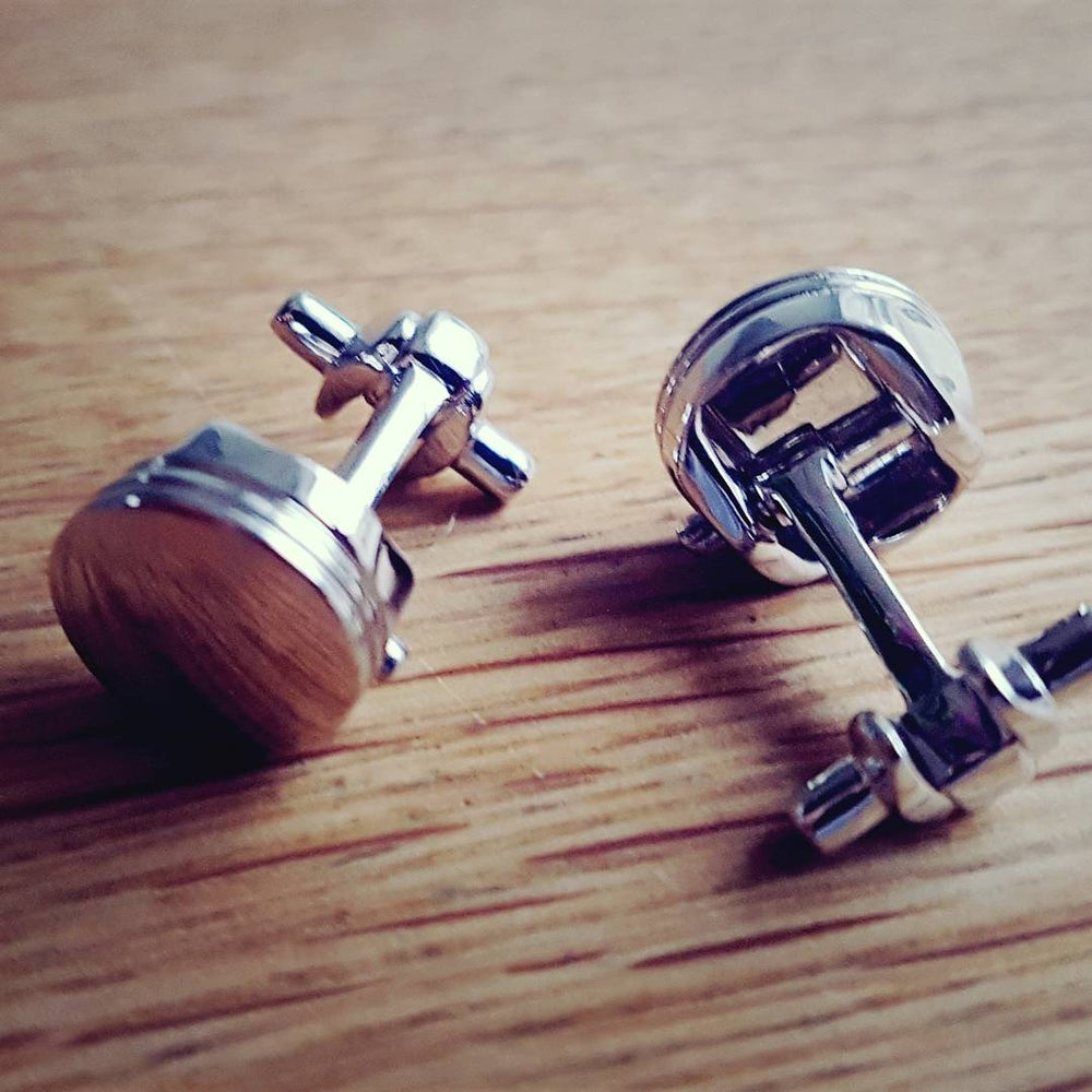 Image of Piston Cufflinks