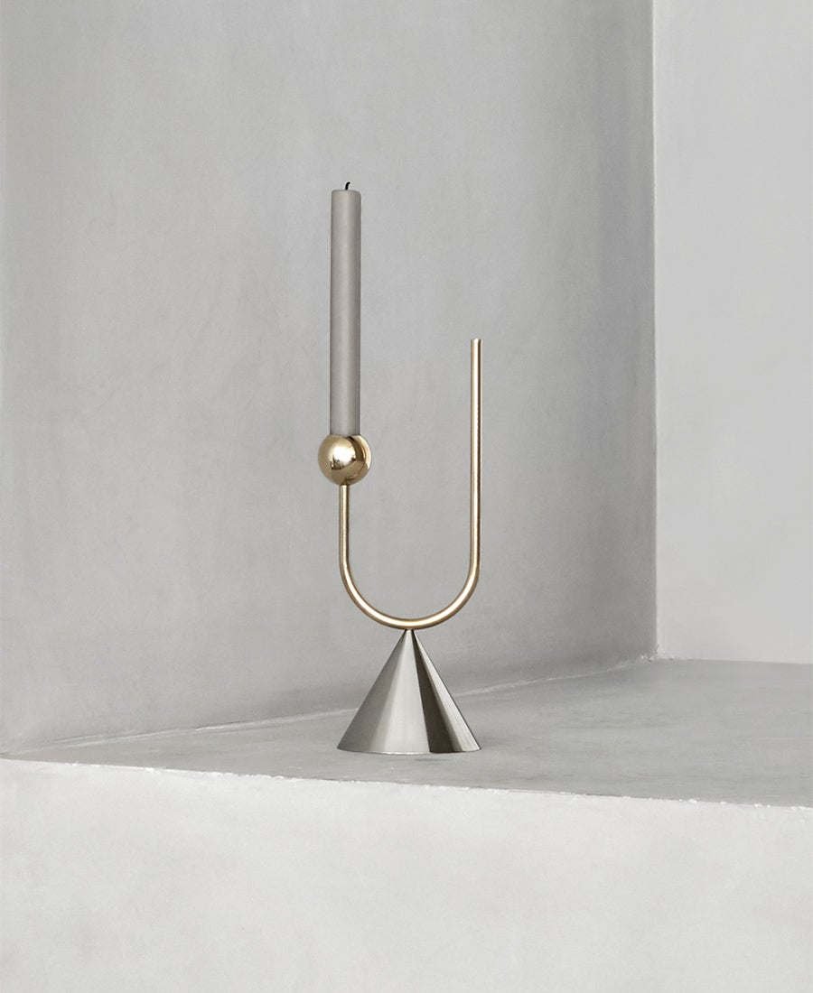 Image of Candle Holder & Vase